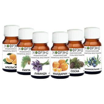 Набор добавок на пробиотиках 6 фл по 10 мл Ecofriend