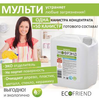 """Набор """"Генеральная уборка"""" № 2 (6 л) Ecofriend"""